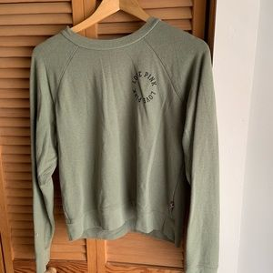 Soft green long sleeve